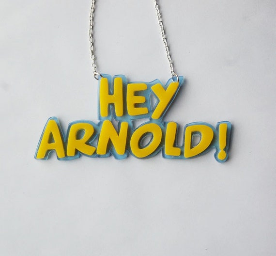 Hey Arnold necklace