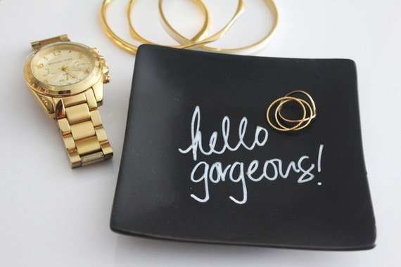 Hello Gorgeous // Jewelry Plate