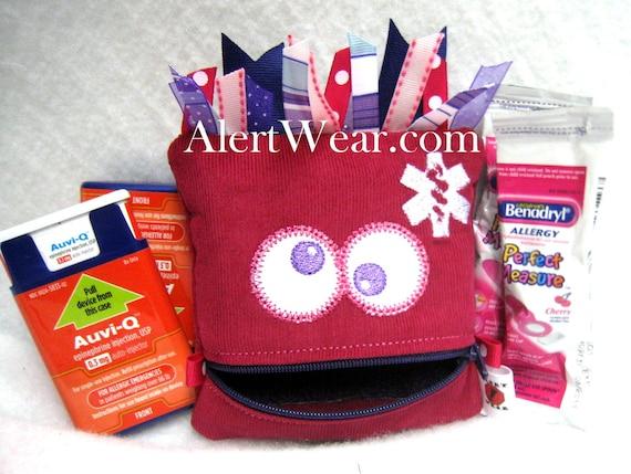 Monster Inhaler / Auvi-Q Medicine Cases