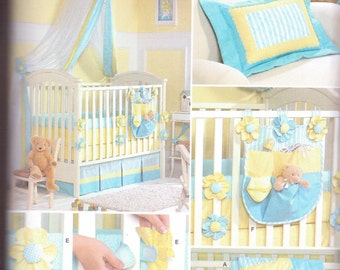 Simplicity Patterns Baby Bedding Sewing Patterns For Baby