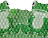 Frogs Peyote Stitch Bracelet Patterns