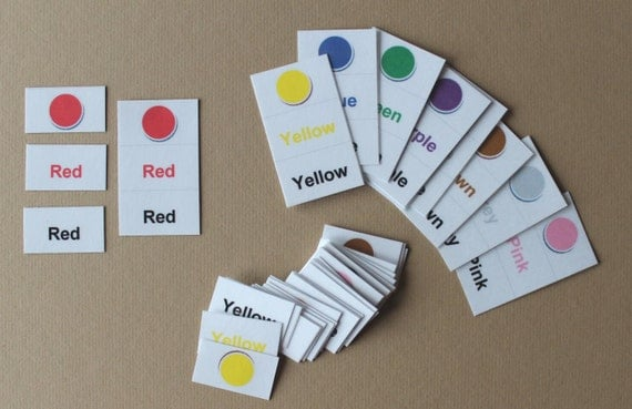 Color Nomenclature Cards