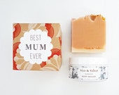 Mothers Day Gift Set - Best Mum Ever - Soap and Body Mousse