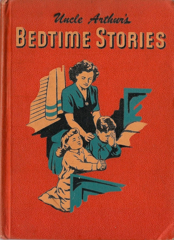 VINTAGE KIDS BOOK Uncle Arthur's Bedtime Stories Volume Four