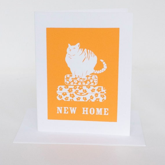 New Home Screen Printed Card