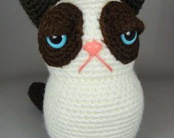 Grumpy Cat Amigurumi Pattern Free : Pokemon und Papagei // Pokemon and parrot
