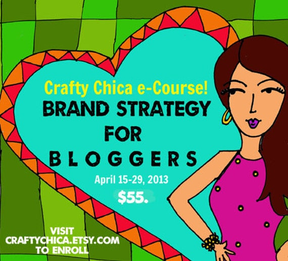e-Course: Brand Strategy for Bloggers