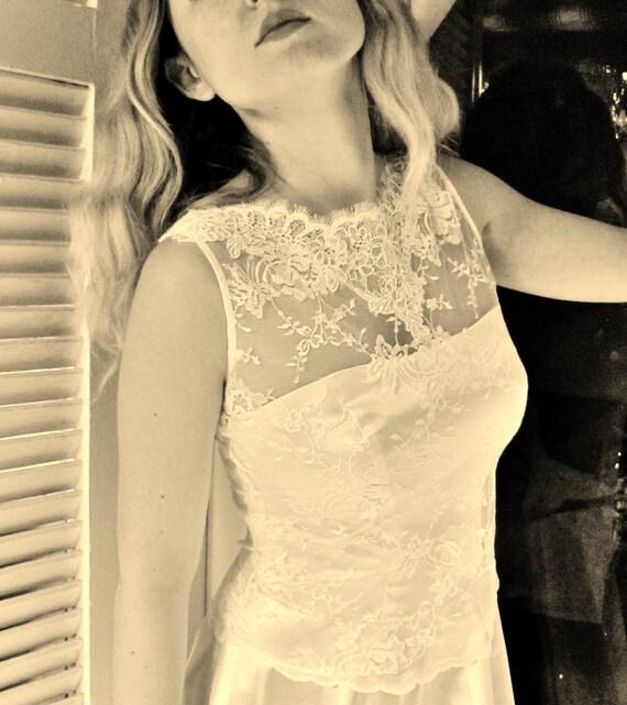 Fantasy white sleeveless bridal lace top white lace blouse bridal bolero jacket wedding bolero