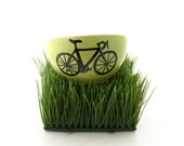 Bike Bowl  Bicycle Lover , Fathers Day Gift for HIm - LennyMud
