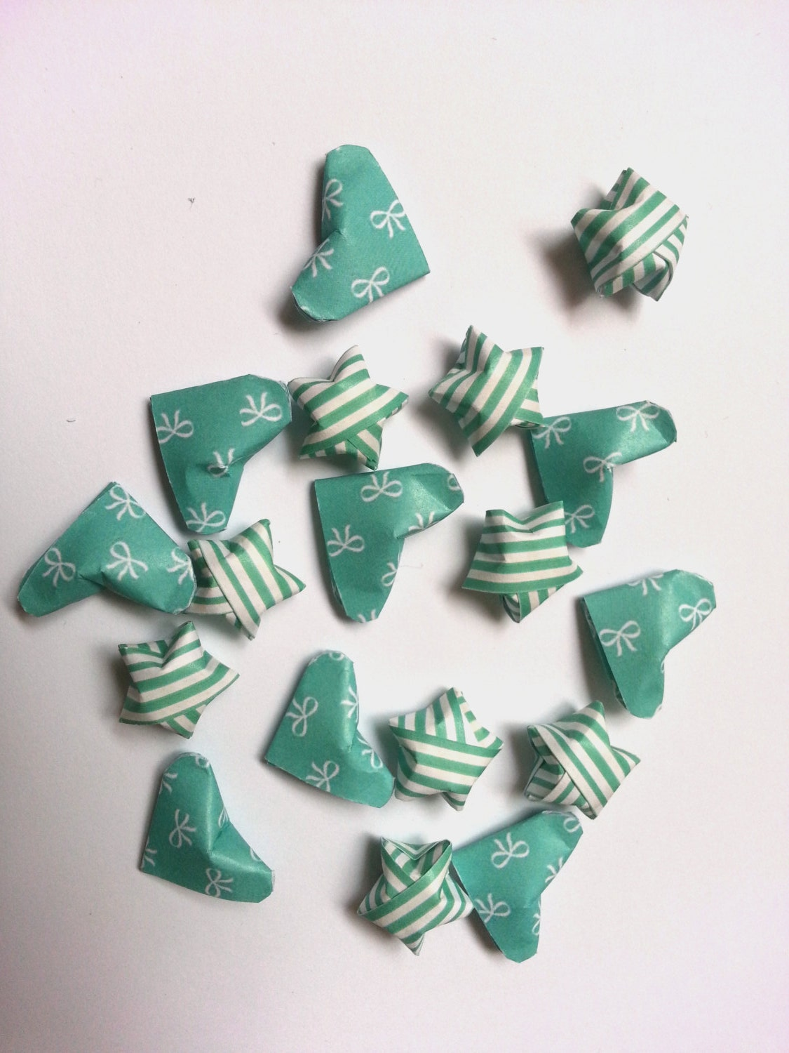 3D Origami Lucky Hearts | Bag n Craft - photo#11