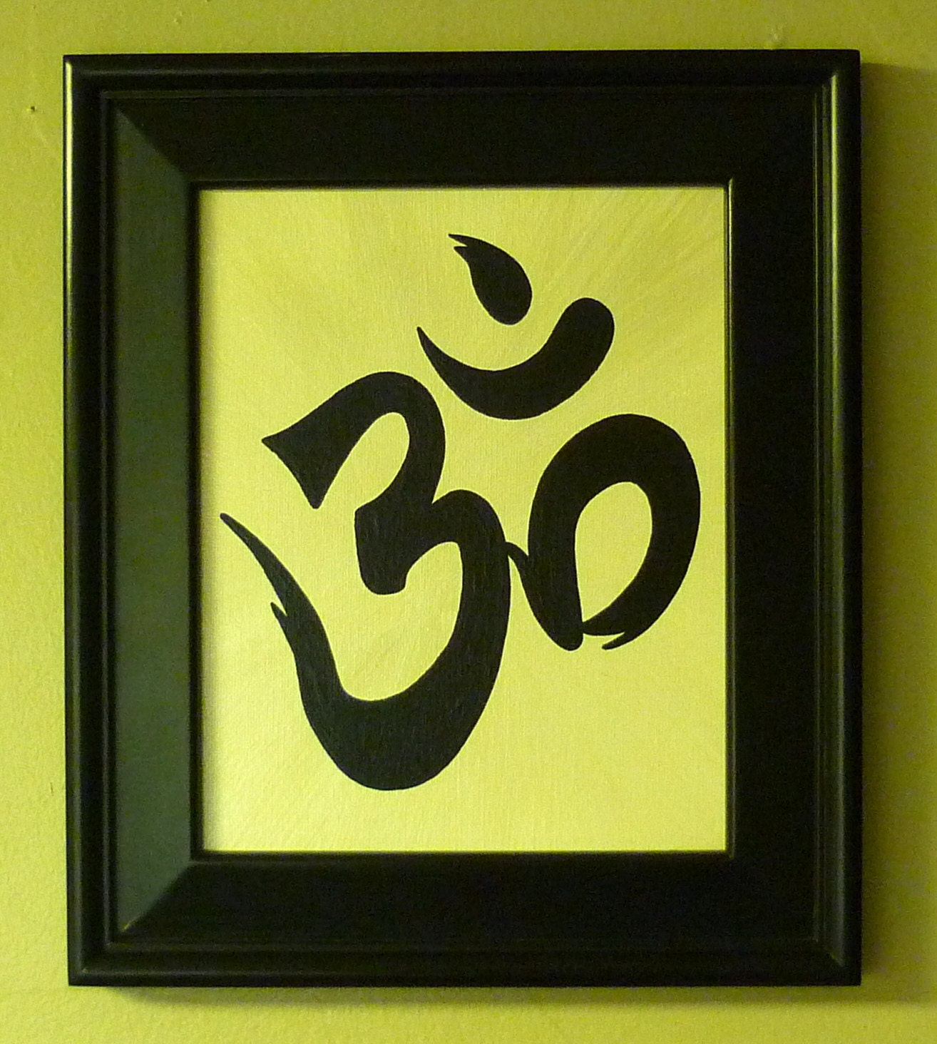 OM Yoga Zen Buddhist Symbol for Meditation by asianartrhrussell