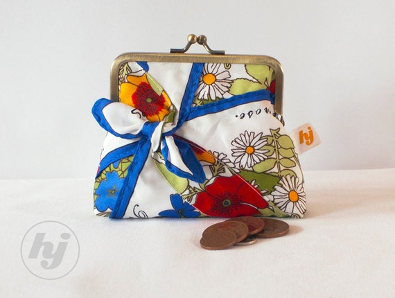 Spring Florals Coin Purse by Heather Jeans