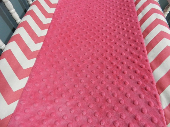 Changing Pad Cover with Minky Upgrade  (Modern Baby Bedding Crib Set)