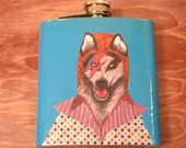 Thirsty Like A Wolf Flask