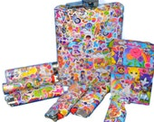 Lisa Frank Collection: Flask, Lighter, and Box