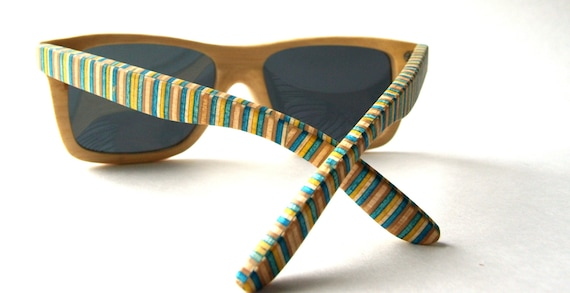 Bamboo Skateboard Sunglasses