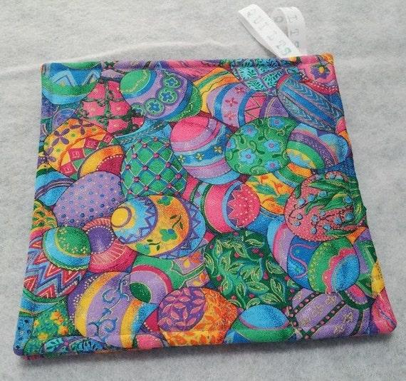 Easter Pot Holders Crochet: Easter Pot Holders Hot Pads Trivets By GabbysQuiltsNSupply