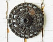 Cast Iron Base - Machine Age - Ornate Scroll Work - Wall Decor - Repurpose - Collect - MyOtherMind