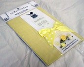 Primrose Yellow Silk Mini Top hat Kit