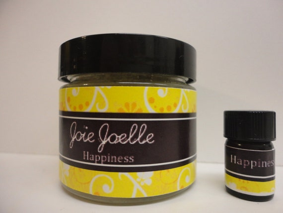 Happiness Spell Candle Sample Kit Pack, with Happiness oil,  for joy, peace, calmness, relieve stress, anxiety, worries