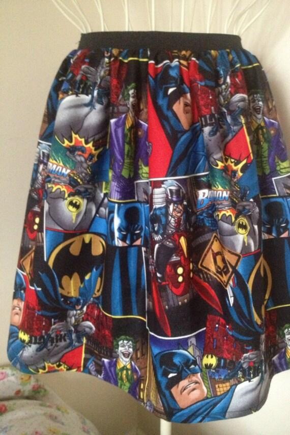 Batman full skater style skirt