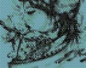 Geisha Peyote Stitch Bracelet Pattern