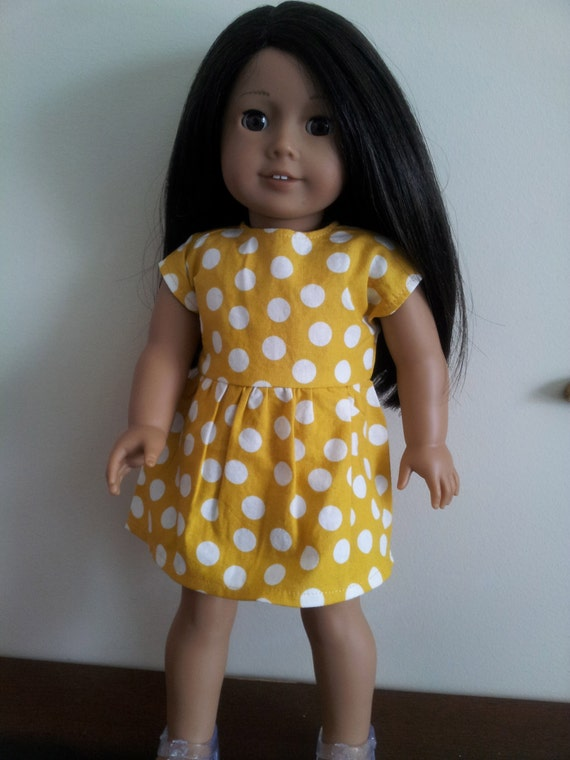 Dress for American Girl Doll- The Mattie dress
