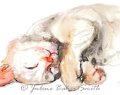 Kitty Sleeping 4 Fine Art Print