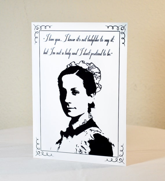 Downton Abbey Valentine's Day card