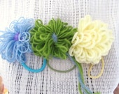 Bloomin' Blossom Hairties Set of 3