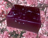 Japanese Plum fragranced Oriental Butterfly soap (Organic)