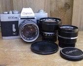 Canon EX EE SLR Vintage Film Camera