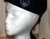 Scottish Black Glengarry Cap
