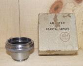 Bolex Exacta Lens Adapter