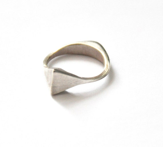 Reversible 2 in 1 Sterling Silver Ring
