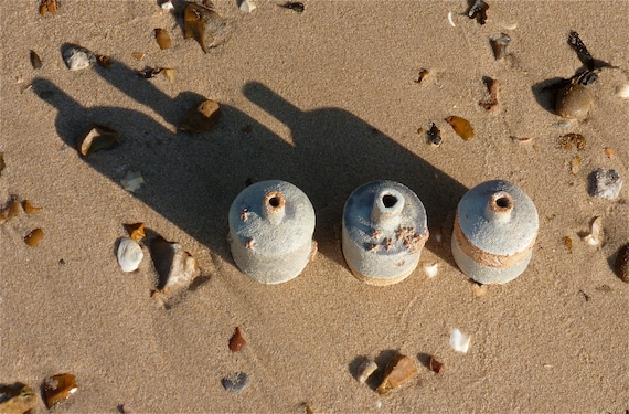 three sea bottles