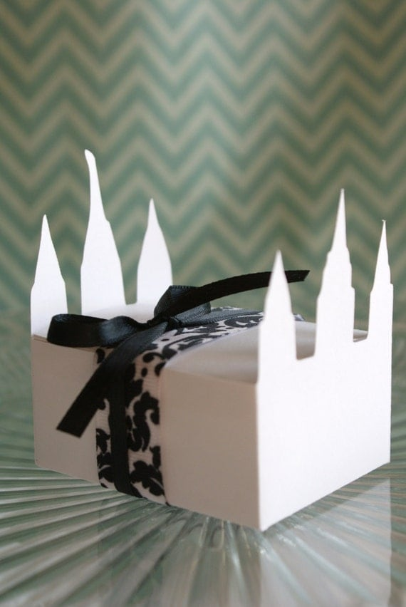 Temple Treat Boxes --  Set of 12