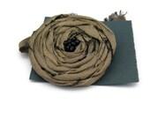 Smoke Grey Silk Brooch Womens Silver Rose Rosette Jewellery Pin Coat Accessory