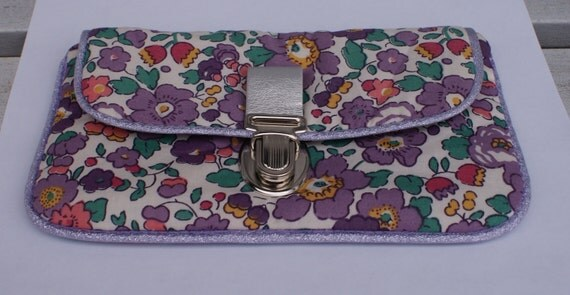 Pochette cartable molletonnée Liberty