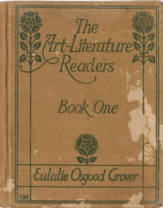 VINTAGE KIDS BOOK The Art-Literature Readers Book One