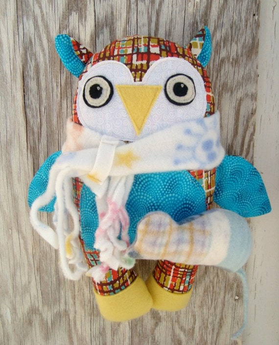Owl Pattern Plush Stuffie Mouse pattern pdf Download Pattern Now