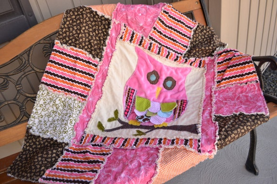 Baby Owl Quilt Pattern by A Vision to Remember