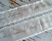 be'be' d' amour - French Ribbon  Trim Baby Ribbon Trim  - 2 Yards - homesteadtreasures