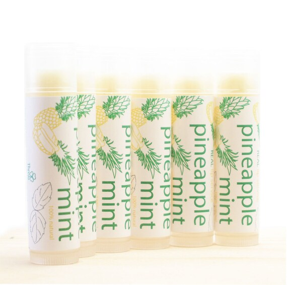 Pineapple Mint All Natural Lip Balm - New