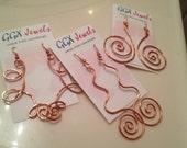 PURE Copper Earrings