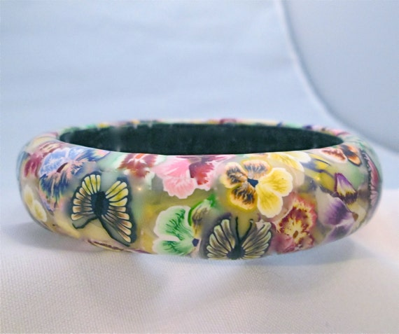 Medium Pansy Bangle