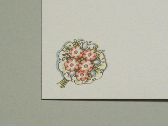 Retro Bureau, bouquet