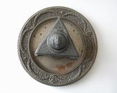 antique french inkwell - thehopetree