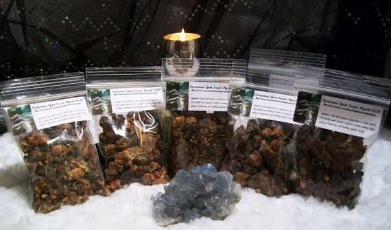 Opopanax Gum Sweet Myrrh Resin