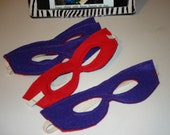 Super Hero Childrens MASK Royal Blue